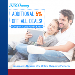 Deal.com | additional 5% off all deals with UOB cards