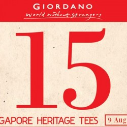 Giordano | Singapore heritage tees at S$15 each