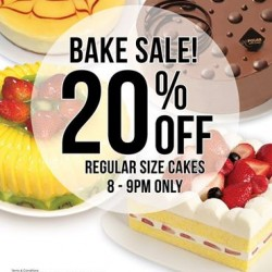 POLAR Puff&Cakes | 20% off regular size cakes from 8-9PM