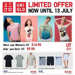 Uniqlo | Graphic T-shirt Weekly special buy
