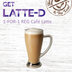Coffee Bean & Tea Leaf | 1-for-1 Cafe Latte