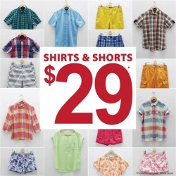 Bossini | shirts and shorts from S$29