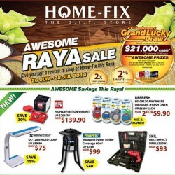 Home-Fix | Awesome RAYA sale with awesome prizes