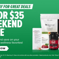 GNC USA | 5 FOR US$35 Weekend Sale