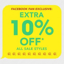 Kate Spade Saturday Singapore | Facebook Fan Special