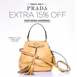 Bluefly | Extra 15% OFF Prada Handbags Sale