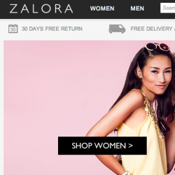 Zalora | Promo code up to 20% off flash sale