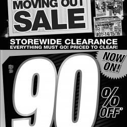 Courts | moving out sale up to 90% discounts