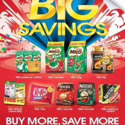 Nestlé | Big Savings with Spin & Win promotion