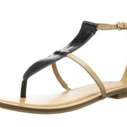 Amazon | Nine West Women's Fischer Leather Dress Sandal