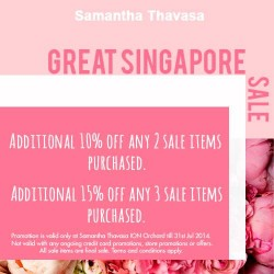 Samantha Thavasa | Great Singapore Sale