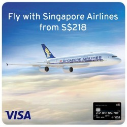 Singapore Airlines | Super Special Deal with Visa