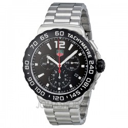 Jomashop | Tag Heuer Formula 1 Chronograph Black Dial Stainless Steel Mens Watch