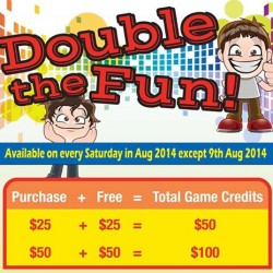 Timezone | Double the fun promotion