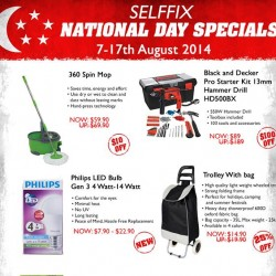 Selffix | National Day 49% off deals