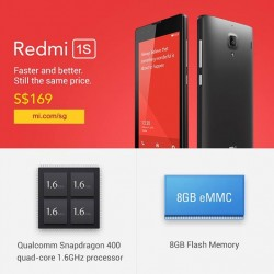 Xiaomi | Redmi 1S, Redmi Note, Mi Power Banks available