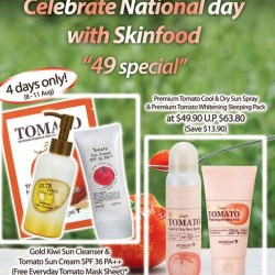 Skinfood | National day special promotion
