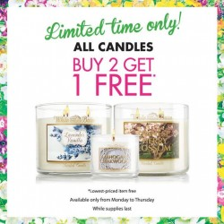 Bath & Body Works | Weekday Special BUY 2, GET 1 FREE