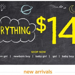 Gymboree USA | everything $14.99 and under promotion