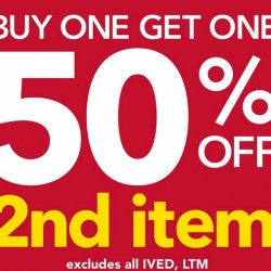 Payless Shoesource Singapore | BUY 1 GET 1 50% off Promotion