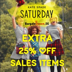 KATE SPADE SATURDAY USA | extra 25% off sales items