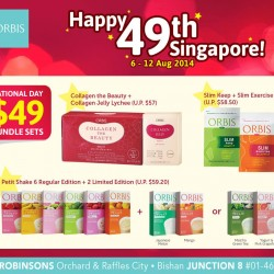 Orbis Singapore | National Day Bundles Promotion