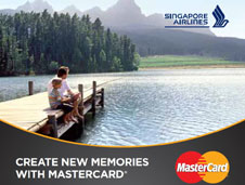 Singapore Airline | Create new memories with MasterCard NATAS promotion