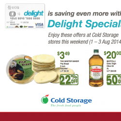 Cold Storage | Weekend Offers with UOB Delight