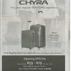 Chyra | Opening special selected range at $59 - $79