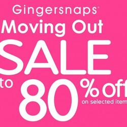 Gingersnaps | Moving Out Sale Parkway Parade