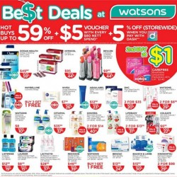 Watsons | Weekly specials and hot buys