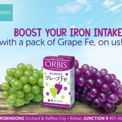 ORBIS | FREE full-sized Grape F give aways