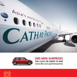 DBS | All-in fares to Hong Kong from S$278 with Cathay Pacific