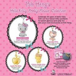 Poh Heng | Hello Kitty Pretty please pendant collection