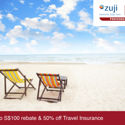 ZUJI   S$100 off with a min. S$1,500 spend with UOB MasterCard