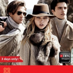 DBS | S$10 off with every $150 spend at Massimo Dutti
