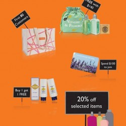 TANGS | Specials L'OCCITANE value sets and promotions