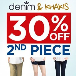 Spring Maternity & Baby | 30% off second piece Denims and Khakis