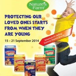Nature's Farm | 10% OFF Yummi Bears at E-store