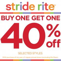 Stride Rite | Buy 1 Get 1 free sale