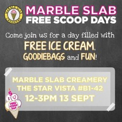 Star Vista | Free ice cream & goodie bags