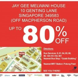 Jay Gee | Warehouse sale up to 80% off