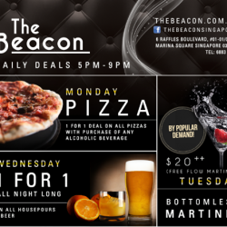 The Beacon | Thursday special complimentary Canapes