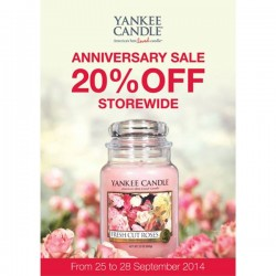 Yankee Candle | 20% Storewide Discount