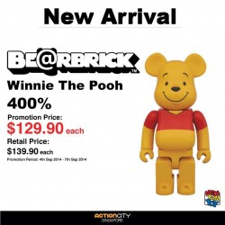 Action City | New 400% BE@RBRICK collectibles available on promotion