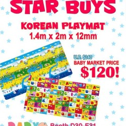 Baby Spa | Korean playing mat @ $120