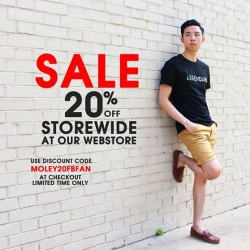 Moley Apparels | 20% Off Storewide online discount