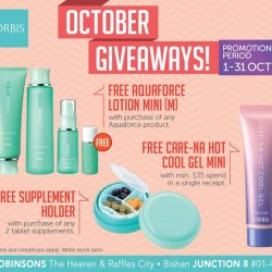 ORBIS | October gift with purchase