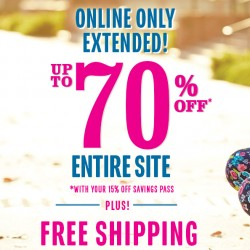 THE CHILDREN'S PLACE | 70% off + Extra 15% off Promotion