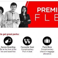 DBS | fly Premium Flex with AirAsia at 10% off